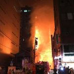 神田駅前で火災が発生!出火場所と火事の原因は?動画も掲載!